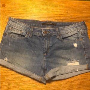Joe's Jeans denim jean shorts destroyed 29